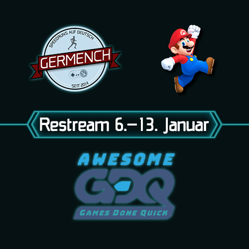 Germench restreamt AGDQ 2019