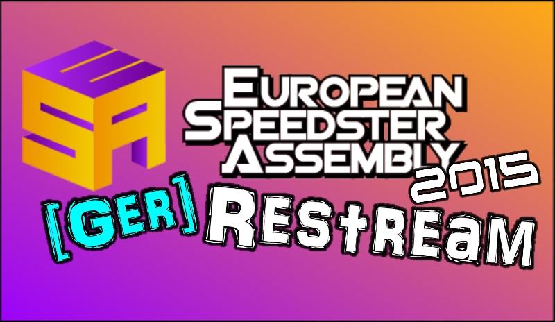 [GER] Restream ESA 2015