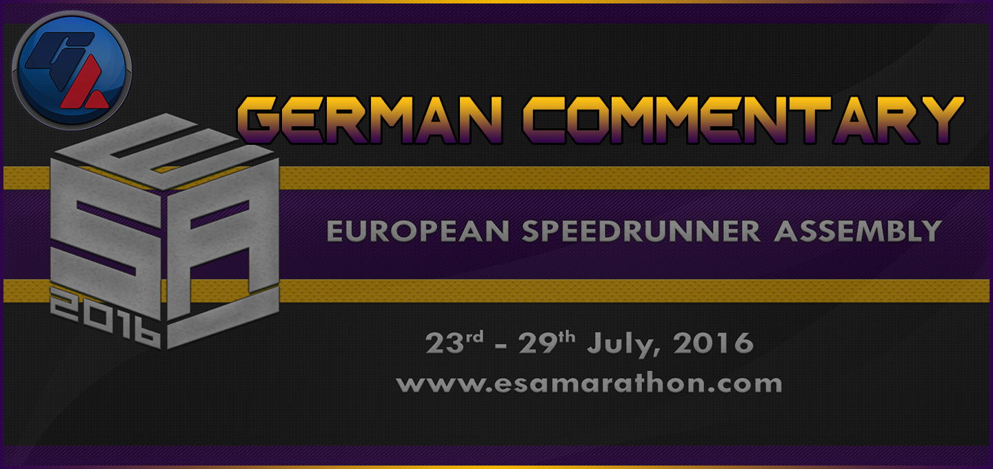 European Speedrunner Assembly 2016 – Deutscher Restream auf Germench!