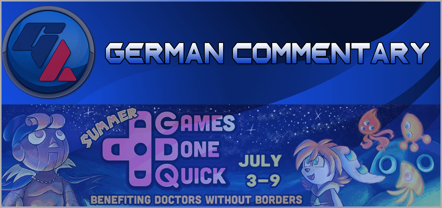 Summer Games Done Quick 2016 – Offizieller deutscher Restream!