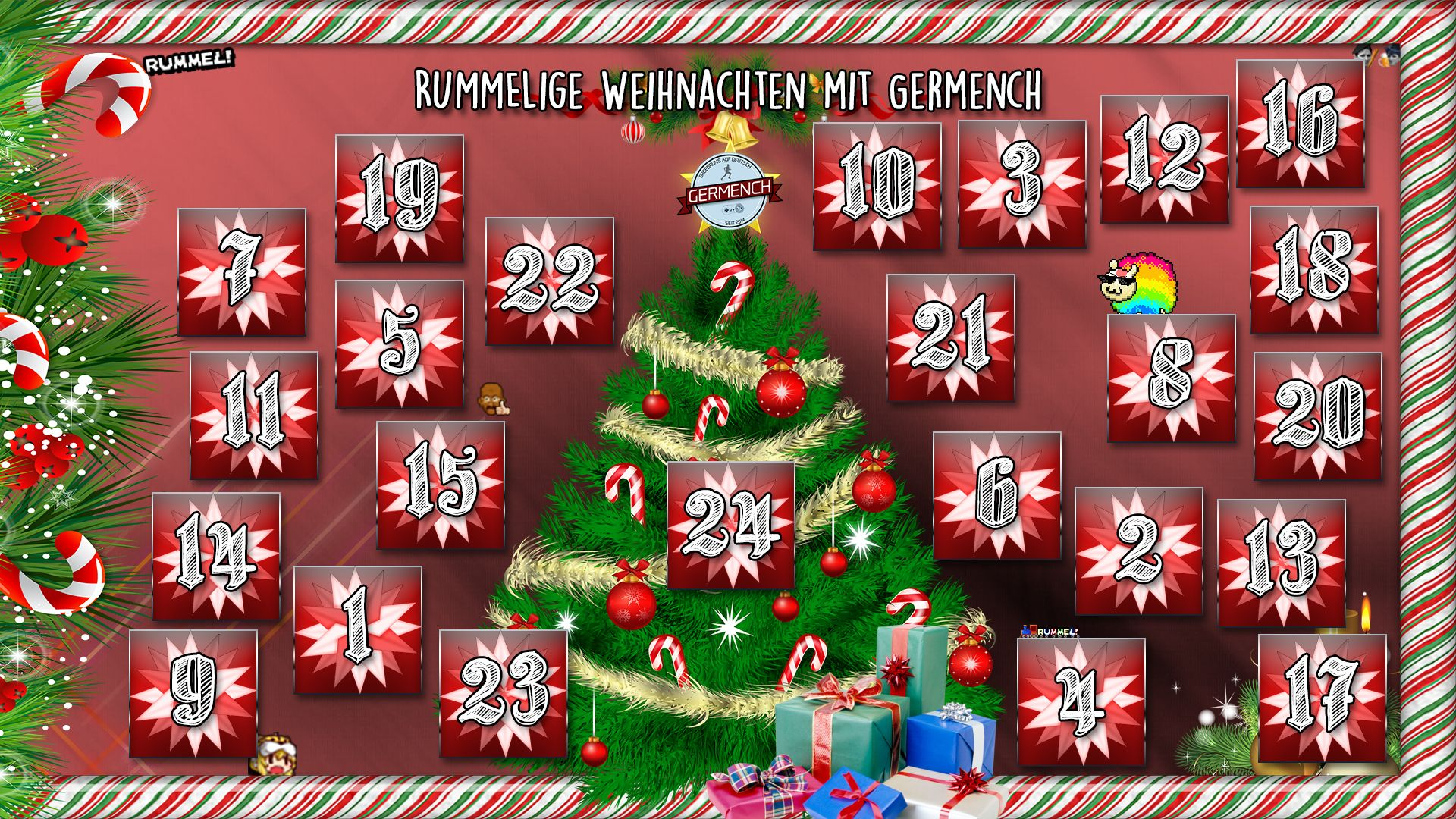 Der Germench-Adventskalender 2017