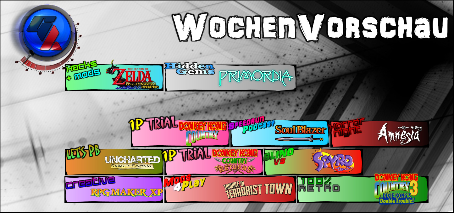 Germench Wochenvorschau 02.09. – 08.09.2015